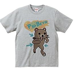 クマー (Ped Bear) Tシャツ 半袖 (M, 006ミックスグレー)