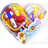 Heart Shape Bear Learning Doctor Set Happy Playmate Educational Toy For Kids