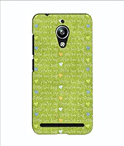ASUS ZENFONE GO COVER CASE BY instyler