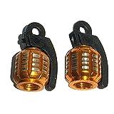 2pcs Aluminum Grenade Motorcycle Tire Tyre Valve Stem Dust Cap Cover for Harley Davidson Sportster 1200 XR1200