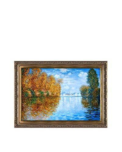 Claude Monet Autumn At Argenteuil Hand-Painted Oil Reproduction