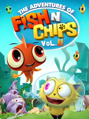 Fish N Chips Cartoon Characters : Amazon fish n chips episodes martin