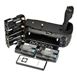 DSTE BG-E6 BGE6 Multi-Power Battery Grip for Canon EOS 5D Mark II 5D2 + Wireless Remote Control + 2pcs LP-E6 Li-ion Battery