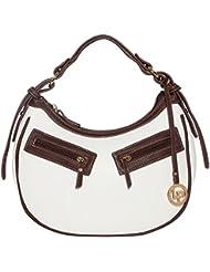 Lino Perros Women's Handbag (White) - B01IVGJW4Y