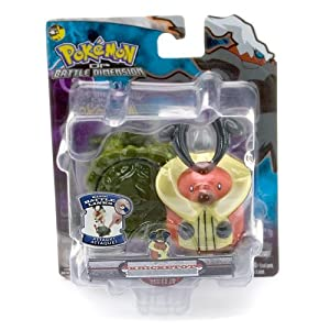Kricketot - Jakks Pacific Pokemon Diamond and Pearl Battle Dimension Basic Battle Links Figure Series 8