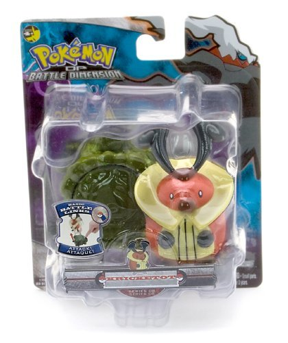Kricketot - Jakks Pacific Pokemon Diamond and Pearl Battle Dimension Basic Battle Links Figure Series 8 - 1