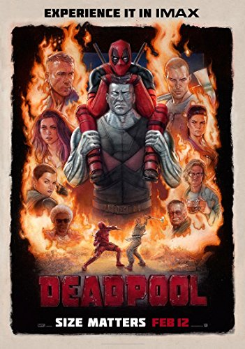 Deadpool movie poster 70x 44cm