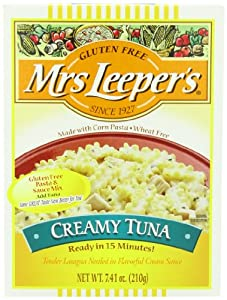 Mrs. Leeper's Creamy Tuna Dinner, 7.41-Ounce Boxes (Pack of 12)