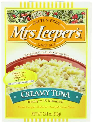 Mrs. Leeper's Creamy Tuna Dinner, 7.41-Ounce Boxes (Pack of 12) (Mrs Leepers Corn compare prices)