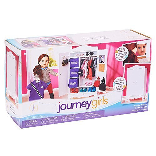 Journey Girls Wooden Armoire by Journey Girls