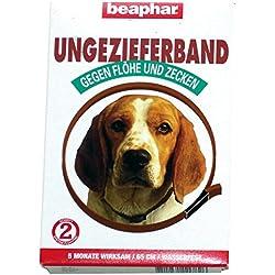 Beaphar 75404 Ungezieferhalsband für Hunde, 65 cm