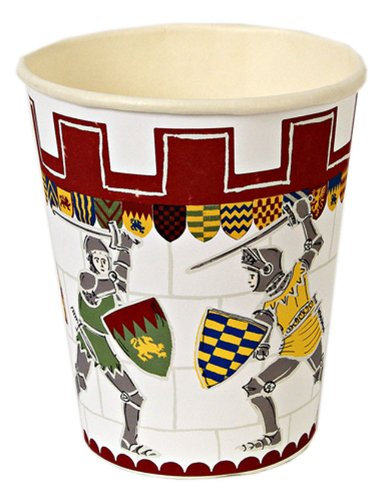 Meri Meri Brave Knights Party Cups, 12-Pack