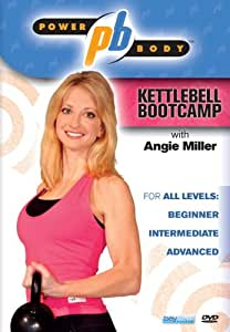 Power Body: Kettlebell Bootcamp with Angie Miller (kettle bell) [Import]