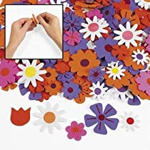 Foam Self-Adhesive Flower Shapes (500 pc)
