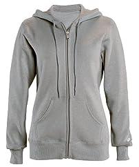 Russell Athletic Women's Pro-Cotton Fleece Full Zip Hoodie - Oxford - S