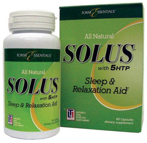 Solus Sleep and Relaxation Aid - 180 Capsules (3