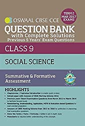 Oswaal CBSE CCE Question Bank With Complete Solutions For Class 9 Term II (October to March 2017) Social Science