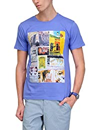 Yepme Men's Graphic Cotton T-shirt - B00O32V3FC