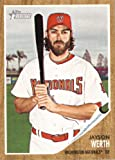 2011 Topps Heritage Baseball Card # 17 Jayson Werth - Philadelphia Phillies - MLB Trading Card