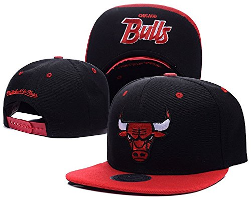 NBA Chicago Bulls Snapback Cotton Black Hats