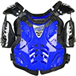 Fly Racing Convertible II Adult Roost Deflector Off-Road/Dirt Bike Motorcycle Body Armor - Blue / One Size