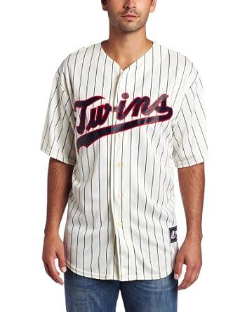 MLB Minnesota Twins Joe Mauer Ivory Navy Baseball Jersey Spring 2012 Mens by Majestic