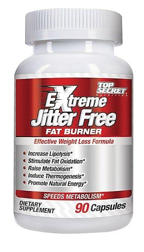 Top Secret Nutrition - Extreme Jitter Free Fat Burner, 90 capsules