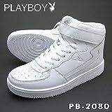 (プレイボーイ)PLAYBOY PB-2080 ホワイト (23.5cm)