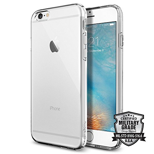 Spigen Capsule - Funda para Apple iPhone 6, transparente