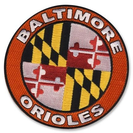2009 Baltimore Orioles Home Sleeve Patch at Amazon.com