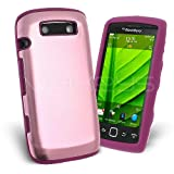 Celicious Baby Pink Aluminium Hybrid Silicone Case for BlackBerry Torch 9860 BlackBerry Torch 9860 Case Cover