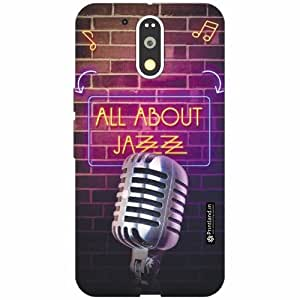 Motorola Moto G4 Plus Back Cover - Silicon All Ab Out Jazz Designer Cases