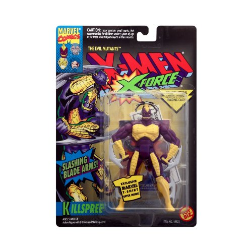 Killspree from X-Men - X-Force Series 4 Action Figure by Toy Biz