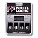 "Gorilla Automotive 38431N Honda Ball Seat Wheel Locks (12mm x 1.50"" Thread Size)"