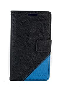 Purple Eyes Generic Mr.Coo Leather Finished Back Case Cover Pouch For Sony Xperia E C1604 C1605 Black/Blue