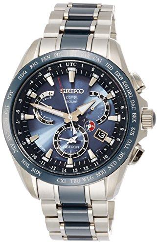 [アストロン]ASTRON 腕時計 ソーラーGPS衛星電波修正 サファイアガラ 10気圧防水 SBXB043 メンズ