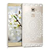 kwmobile Crystal Case Hülle für Huawei Mate S mit Blume