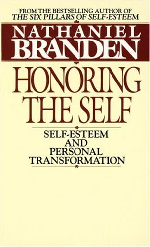 Honoring The Self: Self-Esteem And Personal Tranformation front-862064