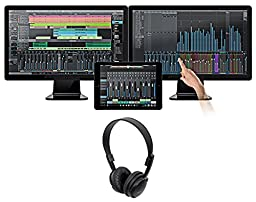 Package: Presonus Studio One Upgrade Professional Version 1 & 2 TO Professional Version 3.2 Audio MIDI Recording DAW + Audio Technica ATH-M2X open-back dynamic headphone