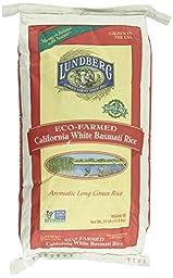 Lundberg Basmati Rice, California White, 25 Pound