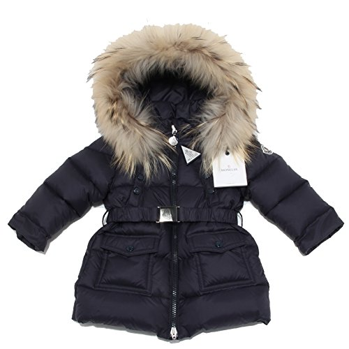 3315N piumino MONCLER giacca bimba jacket kids blu [6/9 MONTHS]