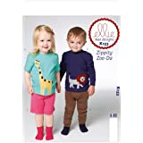 Kwik Sew Patterns K0133 Toddlers Top/Shorts and Pants Sewing Template, All Sizes