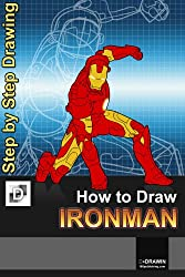 How To Draw Iron Man - Step-By-Step Drawing Lessons for Children