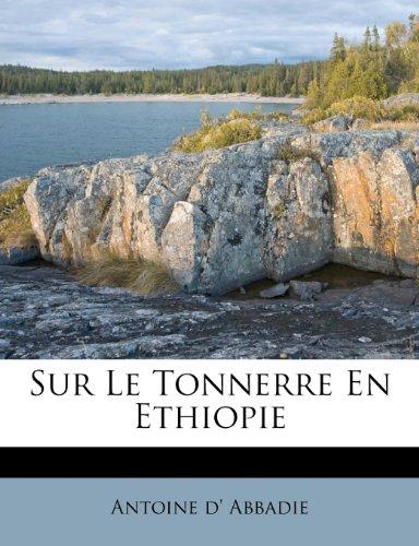 Sur Le Tonnerre En Ethiopie