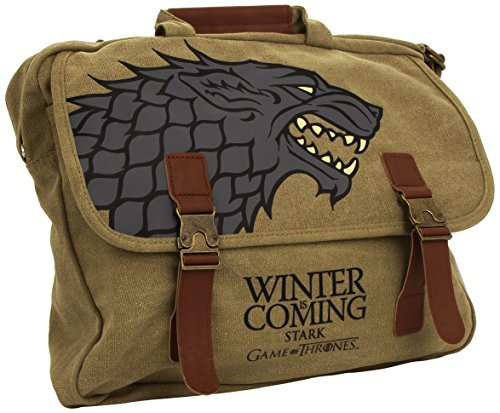 Game Of Thrones: Stark Fabric Messenger Borsa