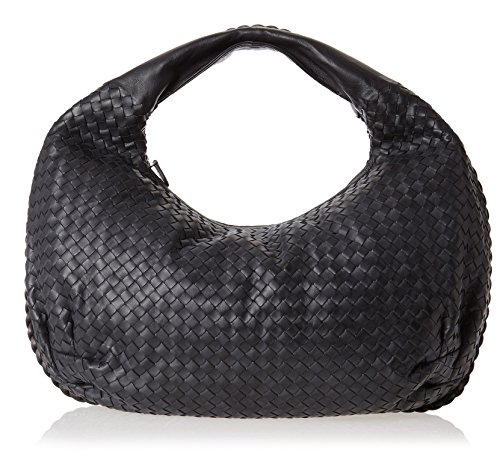 Bottega-Veneta-Womens-Large-Hobo-Black
