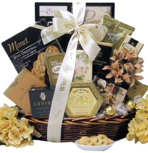 Great Arrivals Sympathy Gift Basket, In Loving