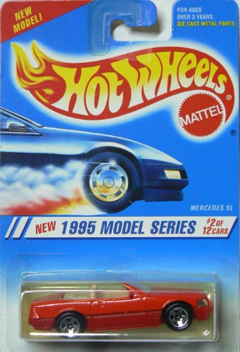 Hot Wheels 1995 Model Series 2/12 Mercedes SL 5sp