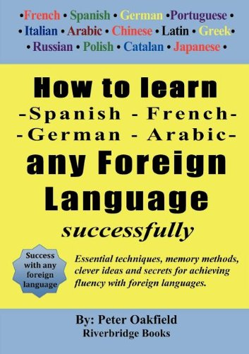How to Learn - Spanish - French - German - Arabic - Any Foreign Language Successfully