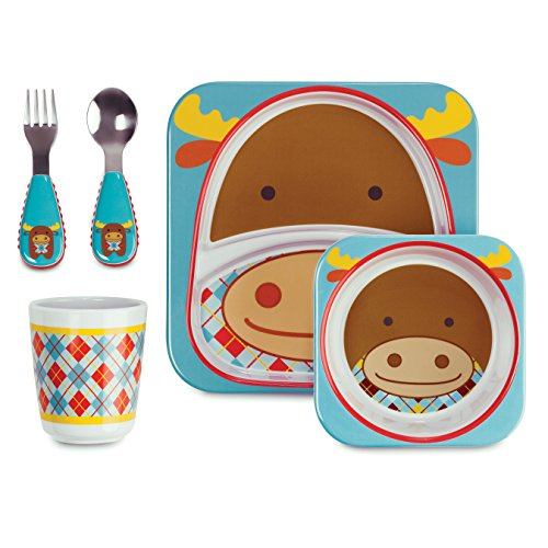 Find Discount Skip Hop Zoo Winter Feeding Set, Moose